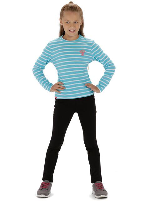 Regatta Carella - Camiseta de manga larga Niños - blanco/Turquesa
